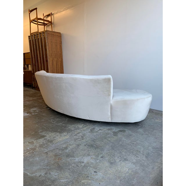 Mid Century Style Cloud Sofa For Sale - Image 11 of 13