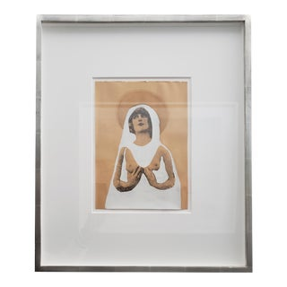 Angel in Silver Frame II For Sale