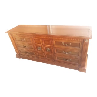 1960s Drexel Heritage Hardwood Dresser For Sale
