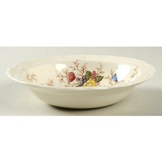 Crown Ducal Wilmslow Brown Multicolor Rim Small Bowl - Set of 4 Preview