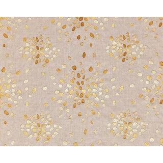 Hinson for the House of Scalamandre Firefly Fabric in Yellow For Sale
