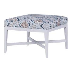 Century Furniture Redford Small Square Ottoman For Sale