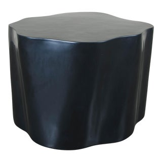 Root Stool - Black Lacquer For Sale
