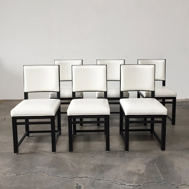 Antonio Citterio Maxalto Teti Chairs - Set of 6 - Image 2 of 8