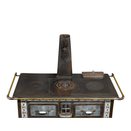 SOUGLAND-AISNE STORED HEAT COOK STOVE For Sale - Image 4 of 8