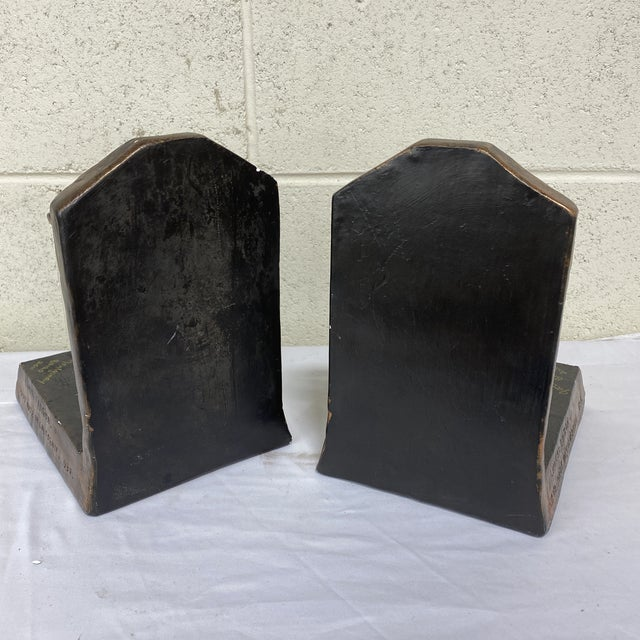 2000 - 2009 Rolls Royce Flying Lady Bookends - a Pair For Sale - Image 5 of 13