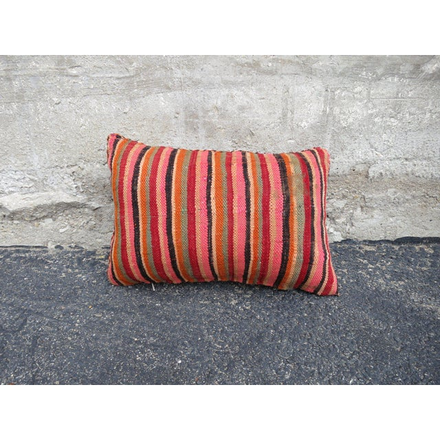 Valencia' Moroccan Berber Wool Pillow For Sale - Image 5 of 5