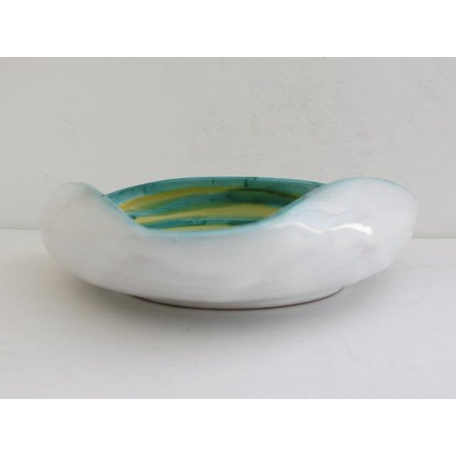 Italian Ceramic Spiral Bowl - Image 4 of 5