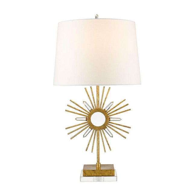 2010s Sun King Table Lamp For Sale - Image 5 of 7