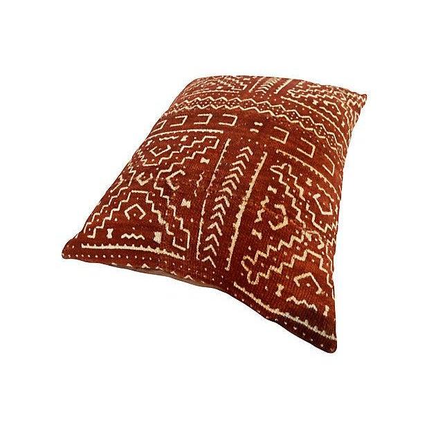 Malian Mud Cloth Pillow - Image 3 of 6