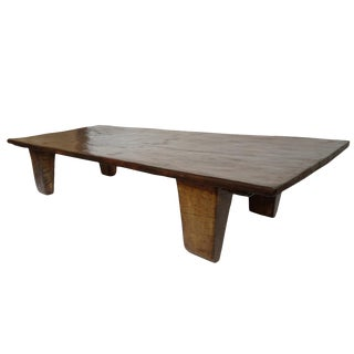 Old Nagaland Wood Table For Sale