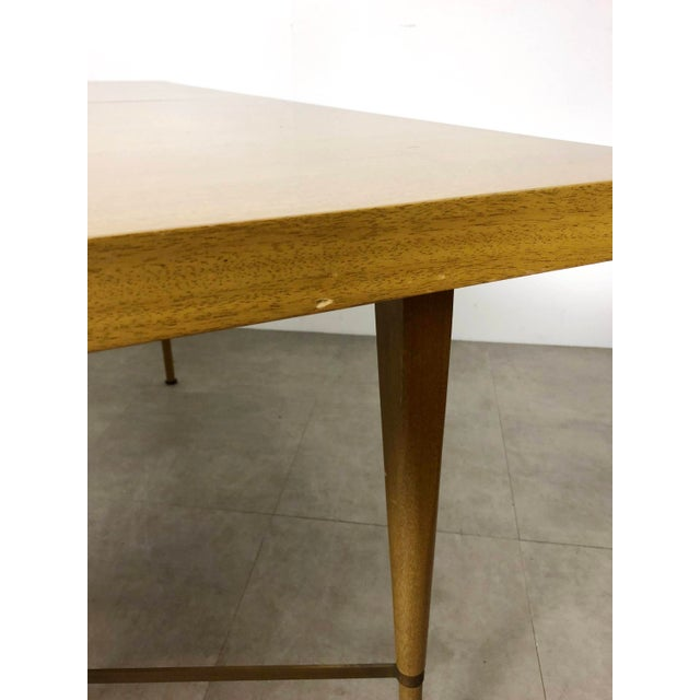 Mediterranean 1950s Vintage Paul McCobb Irwin Calvin Dining Table For Sale - Image 3 of 11