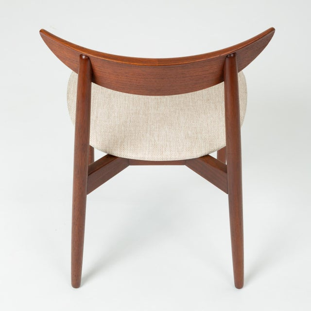 Wood 1960s Single Teak Dining / Accent Chair by Harry Østergaard for Randers Møbelfabrik For Sale - Image 7 of 13