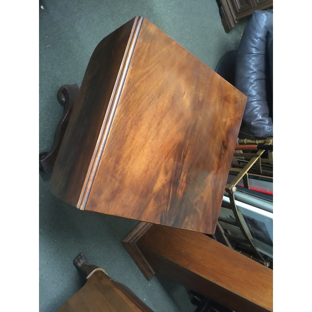 Antique Mahogany Empire Work Table For Sale In San Francisco - Image 6 of 11