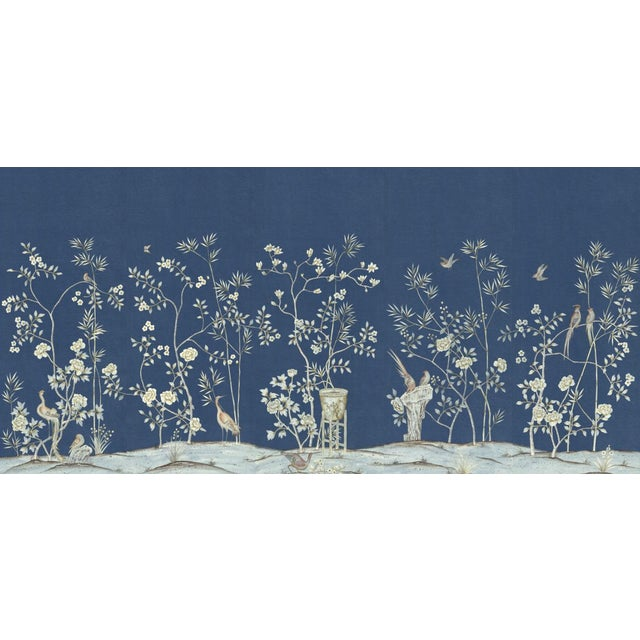 "Casa Cosima Royal Brighton Wallpaper Mural - 5 Panels 180"" W X 96"" H For Sale - Image 6 of 6"