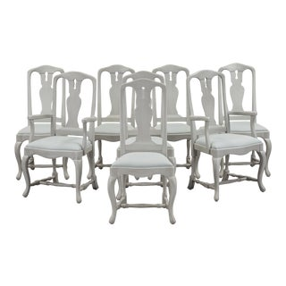 Baroque Chairs- Set of 8 For Sale