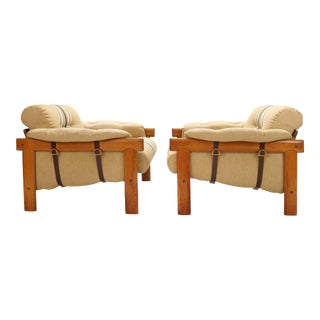 H.W. Klein for Bramin Lounge Chairs - a Pair For Sale