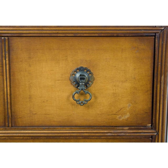 William and Mary Style Chest of Drawers on Stand Dresser For Sale - Image 10 of 12
