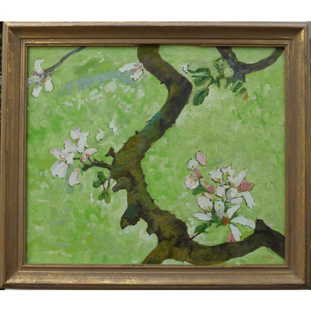 """""""April Flowers"""" Oil Painting - Image 1 of 4"""