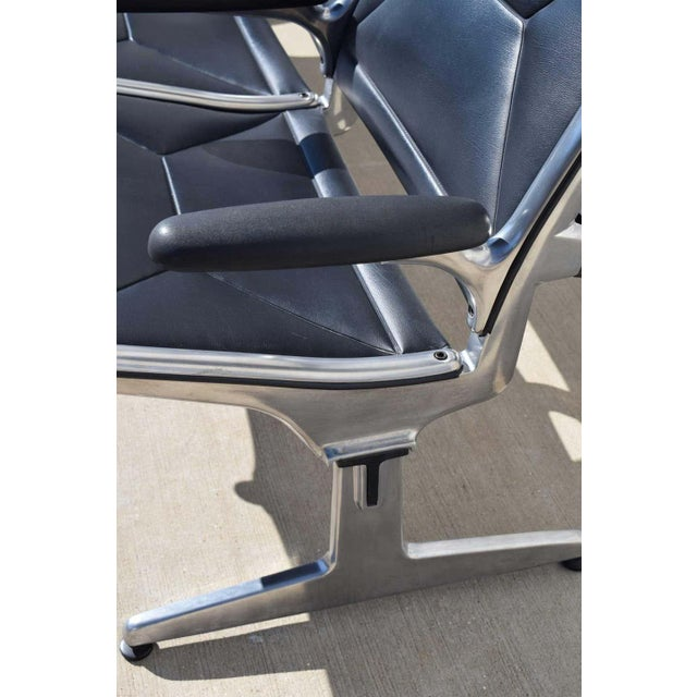 Eames for Herman Miller Tandem Sling Airport Bench For Sale - Image 10 of 11