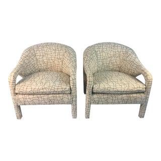 Vladimir Kagan Chairs- a Pair For Sale