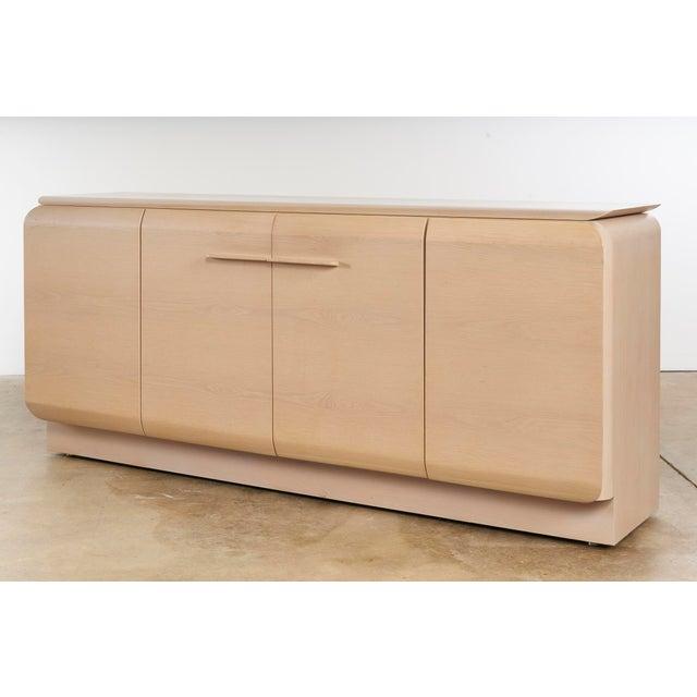 Ello Ello Cerused Oak Cabinet For Sale - Image 4 of 9
