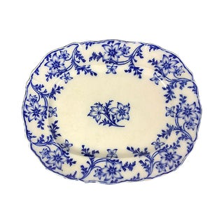 English Floral Minton Platter