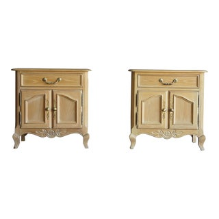 Vintage Used French Provincial Nightstands Chairish