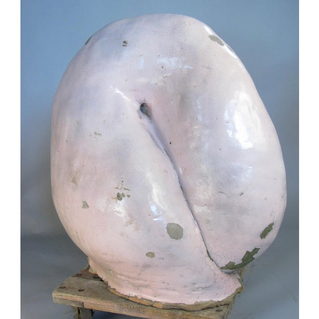 Antique Glazed Terracotta Snail Sculpture For Sale In New York - Image 6 of 9