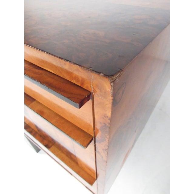 "Paul Evans ""Cityscape"" Burlwood Executive Desk For Sale - Image 11 of 13"
