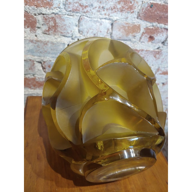 Renee Lalique No.973 Tourbillons Vase For Sale In Los Angeles - Image 6 of 11