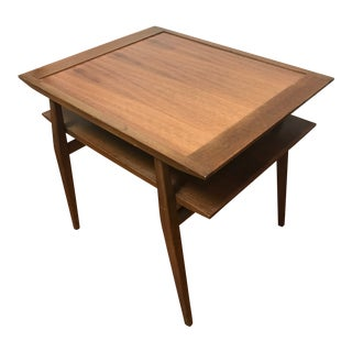 1950s Scandinavian Modern Bertha Schaefer for Singer & Sons Side Table For Sale