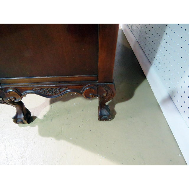 Wood Georgian Style China Cabinet For Sale - Image 7 of 13