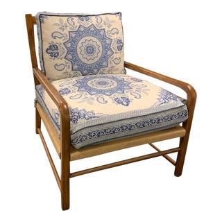 Henredon Miramar Rush Chair For Sale