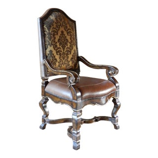 Marge Carson Dining Accent Chair For Sale