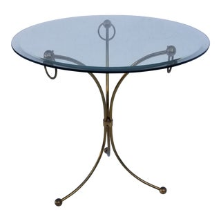 Neoclassical Maison Jansen Style Gueridon Table For Sale