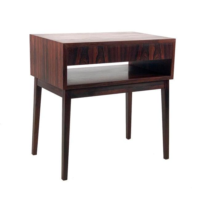 1960s 1960s Vintage Danish Rosewood Bedside Table For Sale - Image 5 of 6