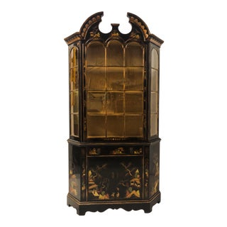Schmieg & Kotzian Chinoiserie Cabinet/Hutch For Sale