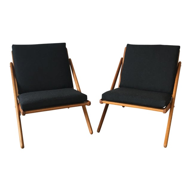 """Vintage """"Z"""" Chairs - A Pair - Image 1 of 5"""