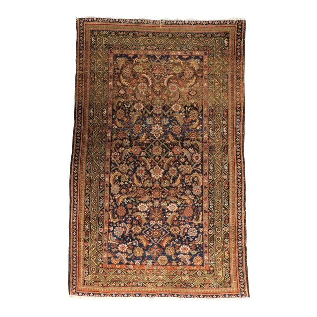 1900 Antique Persian Fereghan Rug For Sale