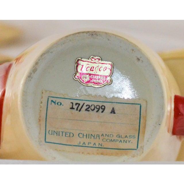 Ceramic Mid-Century Modern Atomic Tea Set For Sale - Image 7 of 7
