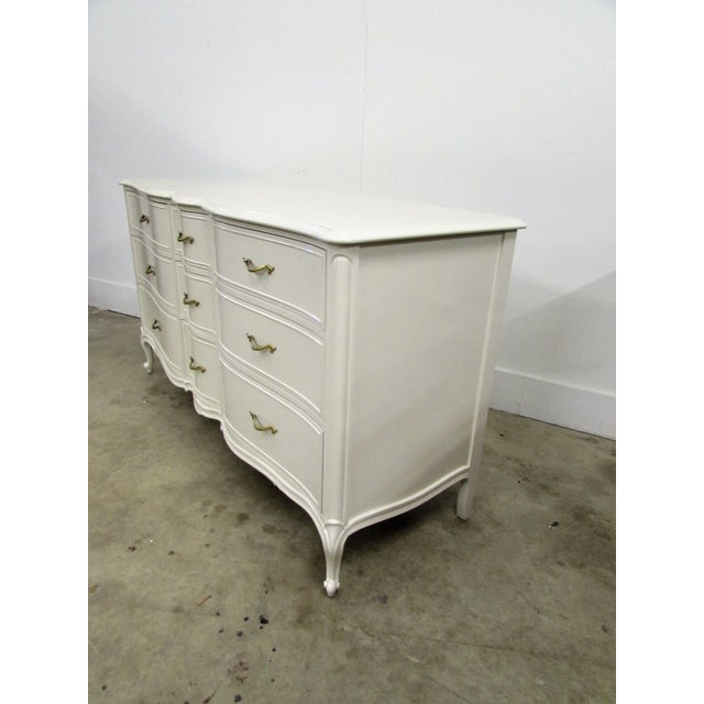 Drexel French Lacquered Chest of Drawers - Image 8 of 10