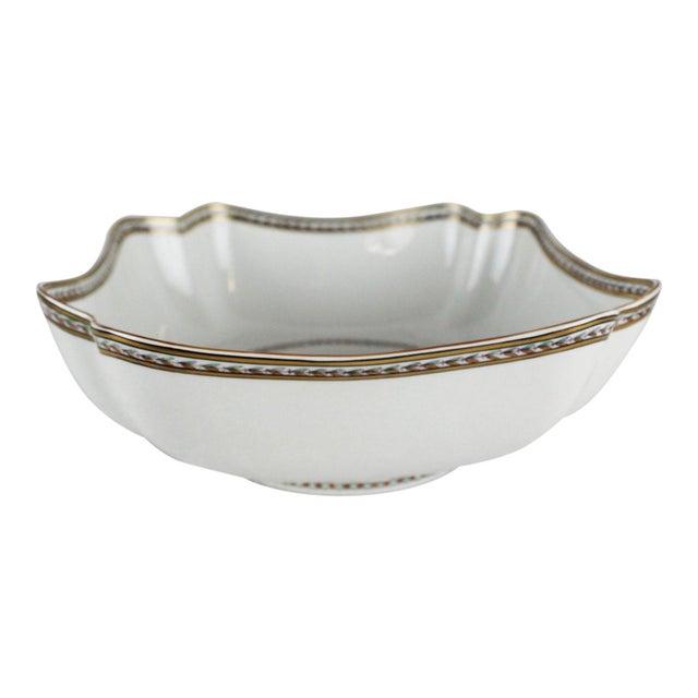Gray 1950s Vintage Vista Allegre Centerpiece Bowl For Sale - Image 8 of 8
