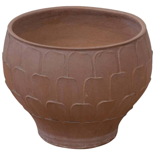 """David Cressey for Architectural Pottery """"Thumb Print"""" Planter For Sale"""