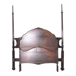 Bed Posts & Frame for Antique Canopy Bed For Sale