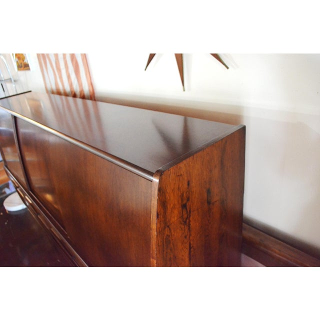 Danish Modern Danish Modern Rosewood Credenza by Poul M Jessen for Pmj Viby For Sale - Image 3 of 13
