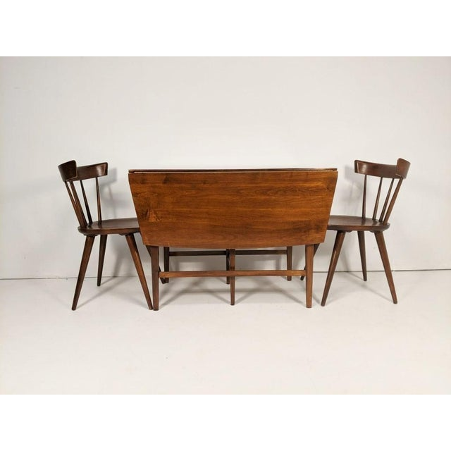 Mid-Century Modern Mid Century Modern Paul McCobb Solid Maple Drop Leaf Dining Set - 7 Pieces For Sale - Image 3 of 13