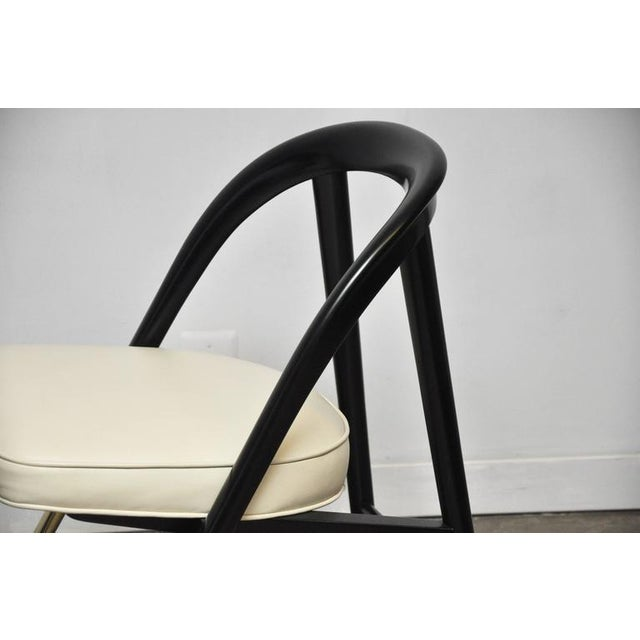 "Mid-Century Modern Rare ""A Chair"" by Edward Wormley for Dunbar For Sale - Image 3 of 5"