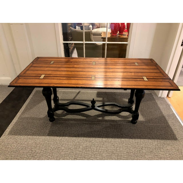 Flip Top Console Table For Sale - Image 13 of 13