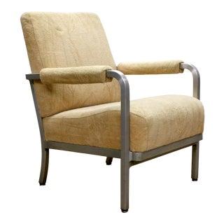 Vintage Goodform Aluminum Framed Armchair For Sale